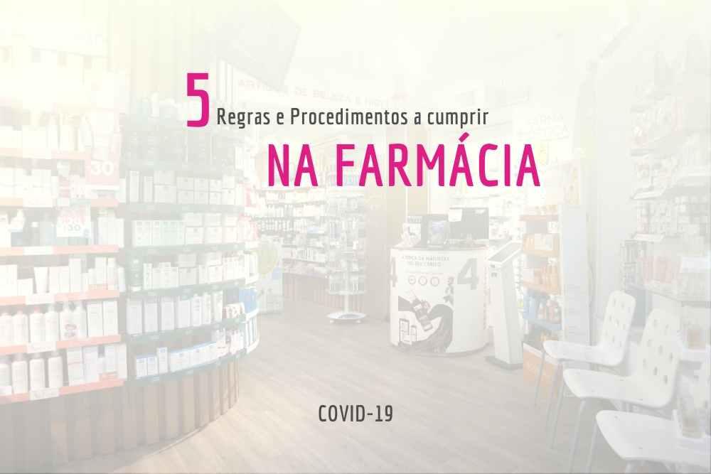 Atendimento na farmácia: COVID